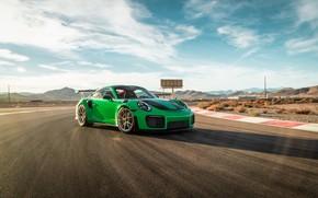 Picture 911, Porsche, Green, GT3, VAG