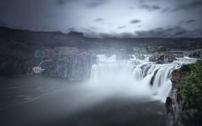 Picture United States, Idaho, McMillan, Shoshone Falls