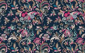 Wallpaper flowers, background, texture