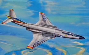 Picture art, aviation, jet, f-101c voodoo