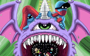Picture Music, Cover, Monstercat, Pegboard Nerds, Purple People Eater