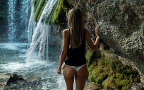 Wallpaper ass, girl, panties, Sergei KOs