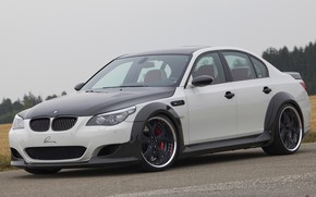 Picture BMW, arch, sedan, G-Power, 2009, V10, E60, BMW M5, Lumma Design, M5, 730 HP, CLR …