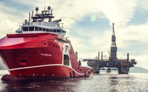 Picture Sea, The ship, Nose, Tank, Ship, Vessel, AHTS, Offshore, AHTS Vessel, Offshore Supply Ship, Supply …