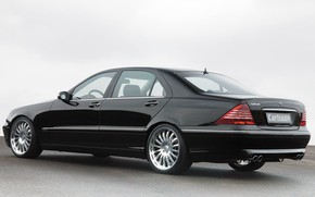 Picture Mercedes-Benz, sedan, Carlsson, W220, The S-class, Class Executive, the fourth generation of its flagship series