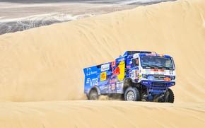 Picture Sand, Auto, Sport, Machine, Truck, Race, Master, Russia, Kamaz, Rally, Dakar, KAMAZ-master, Dakar, Rally, KAMAZ, …