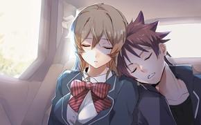 Picture sleep, Erina Nakiri's, In the search for the divine recipe, Soma Yukihira, Shokugeki No Soma
