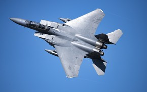 Picture UNITED STATES AIR FORCE, fighter-bomber, American double, McDonnell Douglas F-15E Strike Eagle