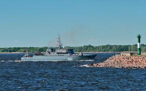 Picture ship, Ivan Antonov, mine