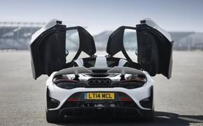 Picture white, McLaren, door, feed, 2020, 765LT