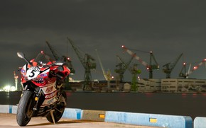 Picture bike, ducati, shadow, PANIGALE