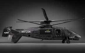 Picture attack helicopter, S-97 RAIDER, Sikorsky Aircraft