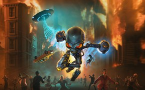 Picture fiction, the game, alien, THQ Nordic, Destroy All Humans!