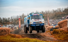 Picture Sport, Machine, Truck, Race, Master, Russia, Kamaz, Rally, KAMAZ-master, Rally, KAMAZ, 507, The roads, RedBull, …