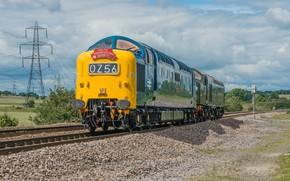 Picture nature, technique, locomotive, haul