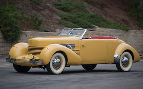 Picture Classic, Yellow, Retro, Cord 812