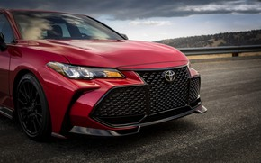 Picture red, before, Toyota, sedan, Avalon, TRD, 2020