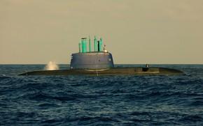 Picture boat, underwater, diesel, ВМС Израиля