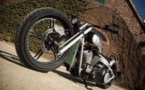 Picture Harley-Davidson, Custom, Thunderbike, Radical Rocker