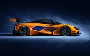 Picture McLaren, racing car, side view, GT3, 720S, 2019