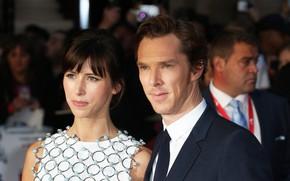 Picture Benedict Cumberbatch, Benedict Cumberbatch, wife, Sophie Hunter