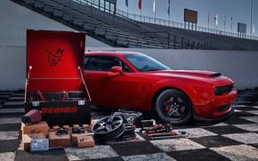 Picture Muscle, Car, Race, Dodge Challenger, SRT, Demon, Kit