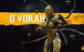 Picture insects, fighter, Mortal Kombat, Mortal Kombat, 2019, Mortal Kombat 11, D`Vorah, D Thief