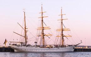 Picture Pier, Ship, Sailboat, Mast, The ship, Bark, Gorch Fock, by Pixabay, Pixabay, Gorch Fock