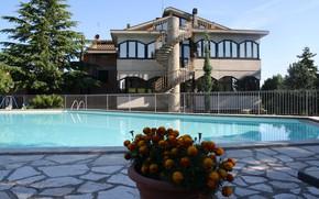 Picture Villa, pool, Italy, architecture, Montepulciano, Villa Ambra