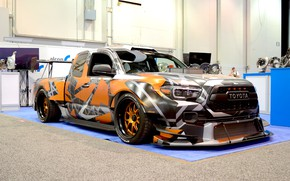 Picture Toyota, Drift, Low, Tacoma, Stanced