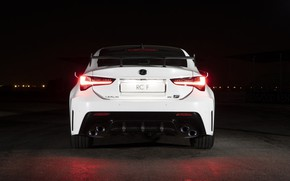 Picture lights, Lexus, rear view, Track Edition, RC F, 2019