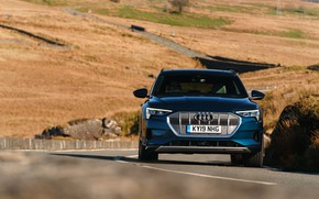 Picture Audi, E-Tron, on the road, 2019, UK version