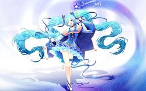 Picture hatsune miku, art, anime, girl, vocaloid