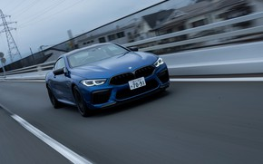 Picture coupe, BMW, freeway, Coupe, 2020, BMW M8, two-door, M8, M8 Competition Coupe, M8 Coupe, F92