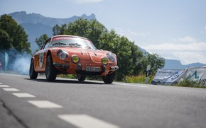 Picture Classic, Rally, Rally, 1968, Classic car, Alpine, A110, Alpine A110, Rally Icon, Alpine A110 1300 …