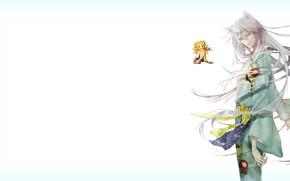 Picture long hair, Kamisaa The Hajimemashita, Very nice God, Tomoya