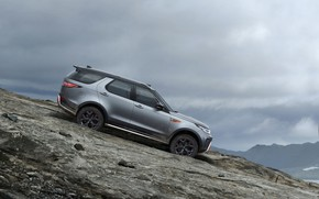 Picture the descent, Land Rover, Discovery, 4x4, 2017, V8, SVX, 525 HP, 5 L.