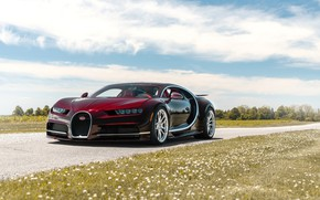 Picture Bugatti, VAG, W16, Sight, Chiron