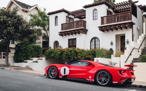 Picture Ford, supercar, Ford GT, 2018, 67 Heritage Edition