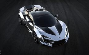 Picture Auto, Road, Grey, Asphalt, Silver, Rendering, Chrome, Supercar, Concept Art, Sports car, SuperSport, Transport & …
