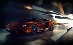 Picture Auto, Lamborghini, Machine, Supercar, Aventador, Lamborghini Aventador, Supercar, Sports car, Sports Car, Transport & Vehicles, …