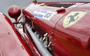 Picture Alfa Romeo, old, antiques, Classic cars
