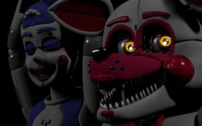 Picture the game, doll, Five Nights at Freddy's, mechanical dolls, Five nights at Freddy's
