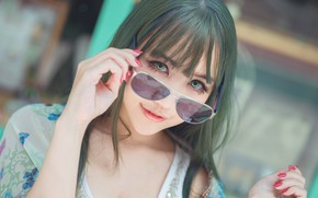 Picture eyes, look, girl, face, eyelashes, background, street, hair, portrait, hands, makeup, green, Asian, cutie, Cape, …