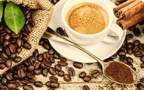 Picture coffee, Breakfast, cappuccino
