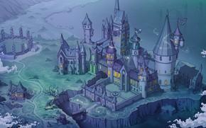 Picture castle, hut, school, school, Hogwarts, Hogwarts, Harry Potter, harry potter, Quidditch, potter, Quidditch