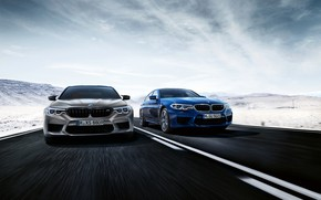 Picture road, BMW, 2018, M5, V8, F90, M5 Competition