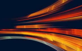Picture light, movement, light, orange, motion
