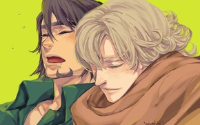 Picture art, Kotetsu, Tiger and Bunny, Barnaby, Tiger & Bunny