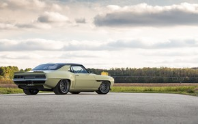 Picture Road, Chevrolet, Wheel, 1969, Camaro, Drives, Chevrolet Camaro, Muscle car, Classic car, Wide Body Kit, …